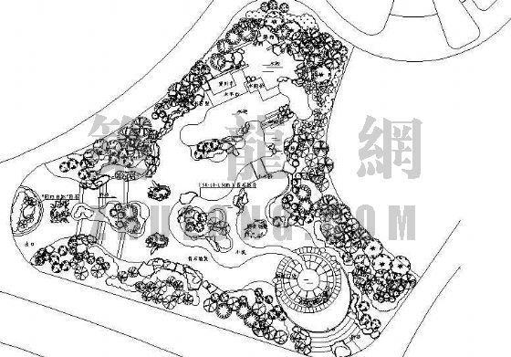 某花博会馆规划设计总平面图