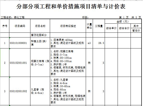 【广东】中学改造(装修及安装)工程量清单实例(含图纸)_8