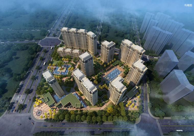[浙江]杭州中式顶级豪宅居住区建筑设计文本