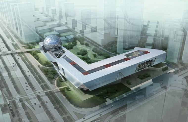 深圳科技馆设计方案1