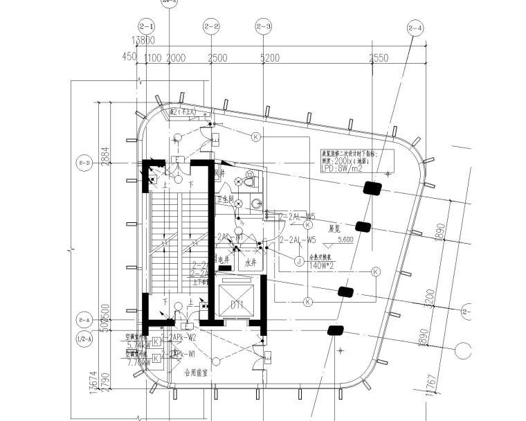 [江苏]某奥体中心体育场强电图纸_6