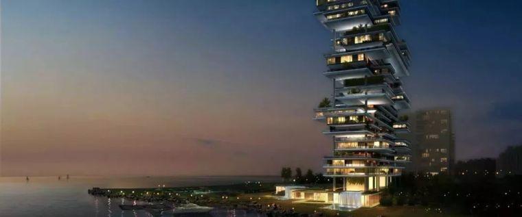 """迪拜造了""""天空中的别墅"""",最小户型300平米,顶层复式卖3.4亿_3"""
