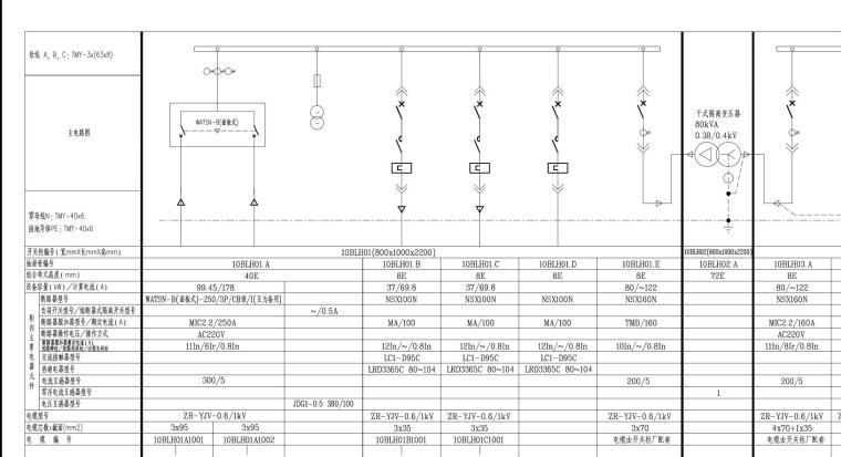 某大电厂SCR脱硝电气全套施工图_1