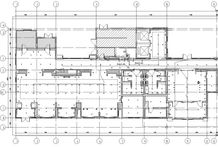 上海老年护理院及养老公寓电气施工图