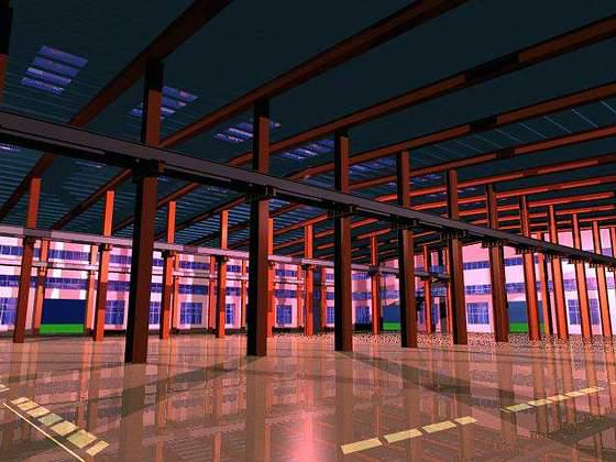 单层工业厂房建筑基本构造