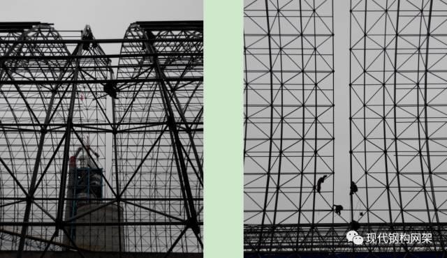 大跨度煤棚焊接球网架液压顶升施工技术_22