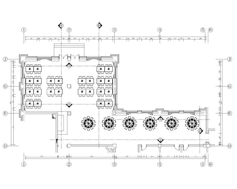 [黑龙江]现代--日月峡旅游度假服务区综合楼室内装修设计施工图(附效果图)