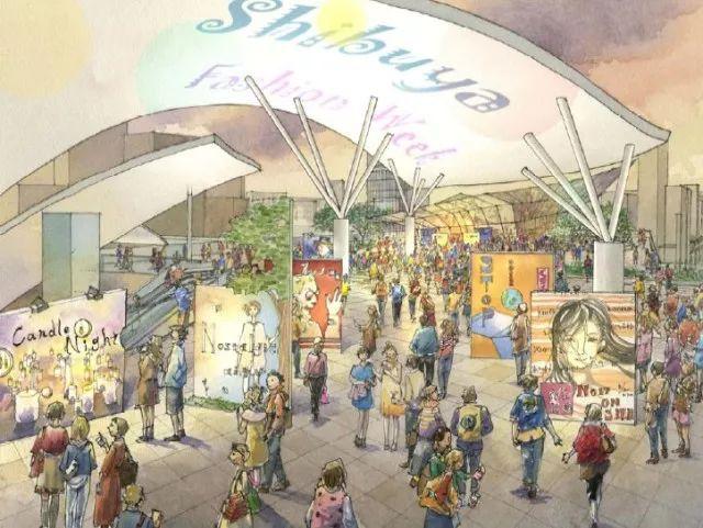 2020东京奥运会最大亮点:涩谷超大级站城一体化开发项目_36