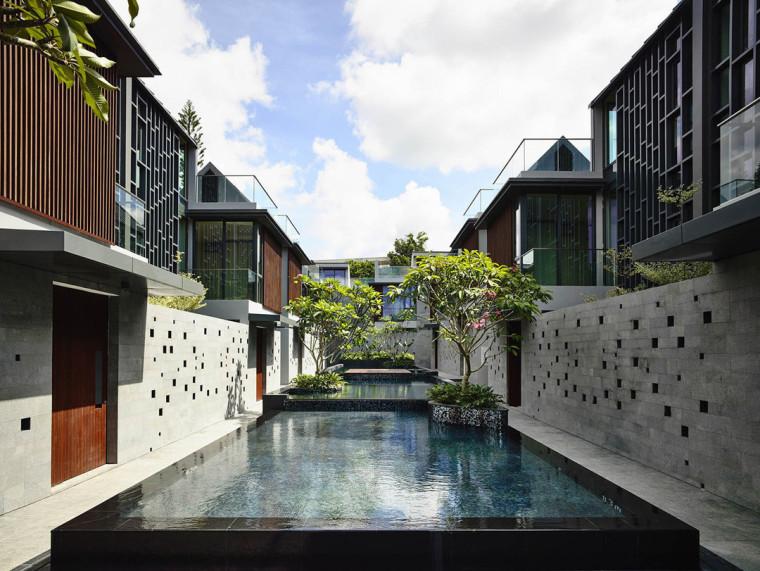 新加坡卓弯住宅/HylaArchitects_3