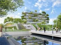 法国充满绿色能量的生态办公楼