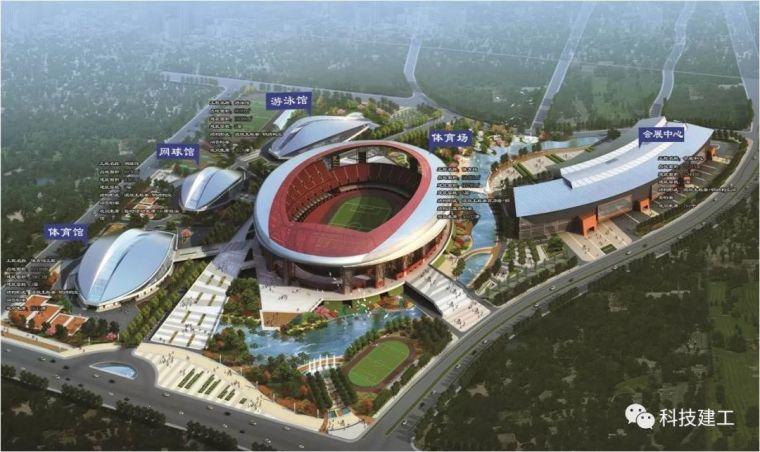 体育场径向环形大悬挑钢结构综合施工技术研究_1