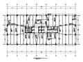 47层矩形钢管混凝土框架核心筒广场结构施工图