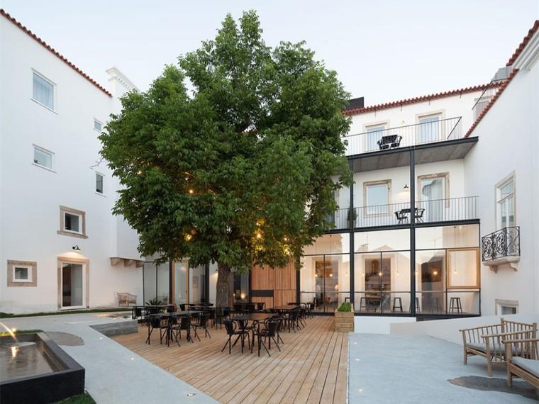 葡萄牙科英布拉酒店改造
