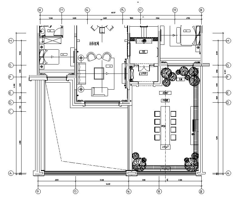 空间划分:别墅(1-3层) 图纸深度:施工图 设计风格图片