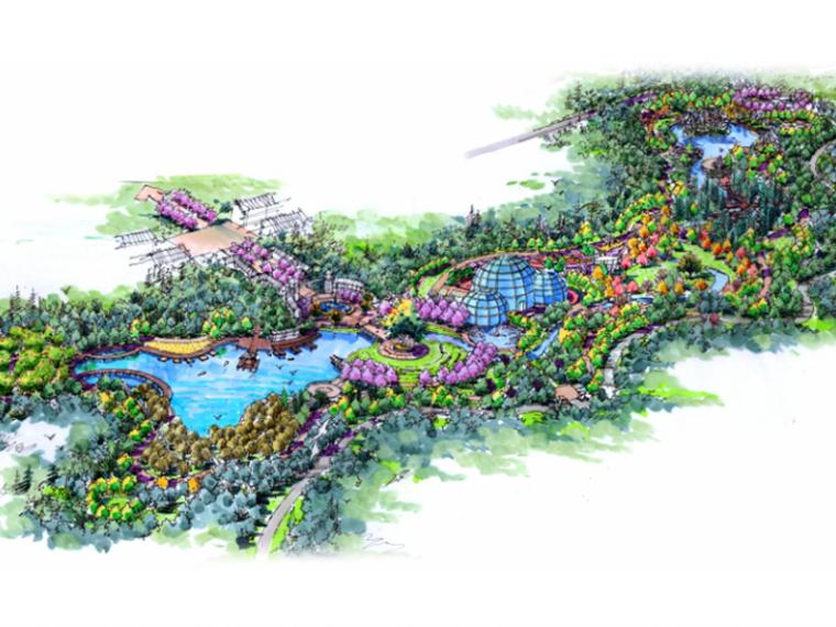 [四川]峨眉山市植物公园景观规划设计(科普公园+水上游乐园)