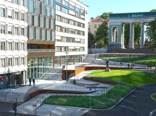 挪威奥斯陆市的斯堪德佛广场