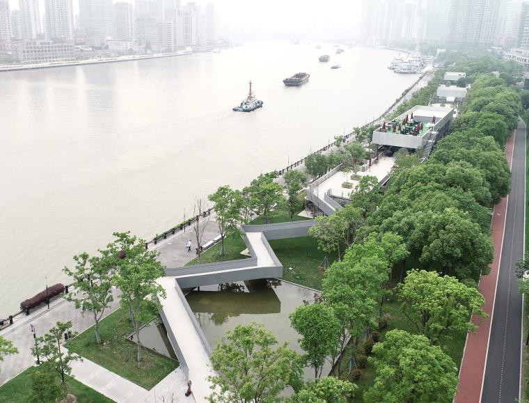 上海艺仓美术馆水岸公园