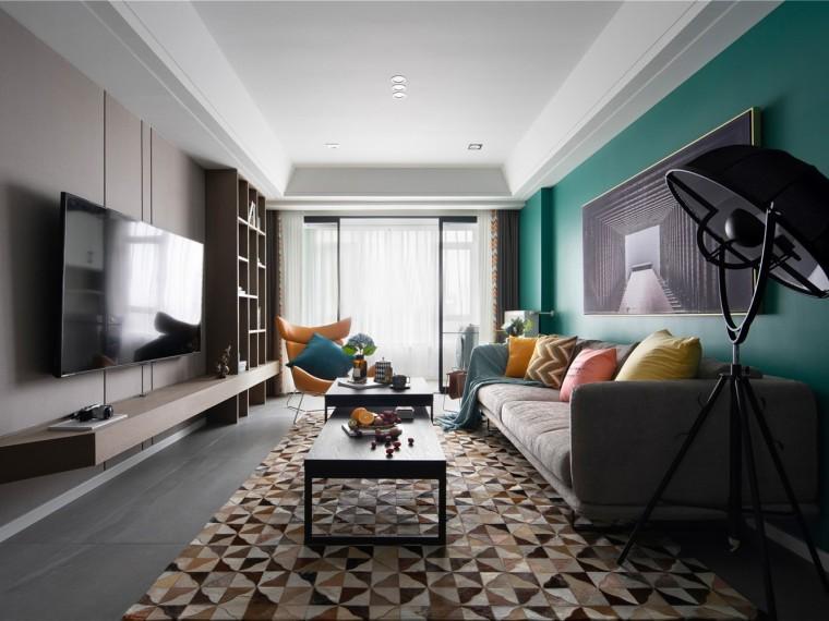 长沙现代北欧风的公寓