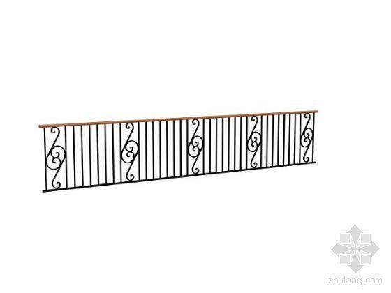 栏杆模型4