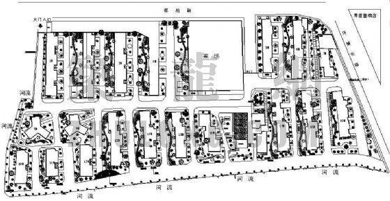 某小区绿化施工图