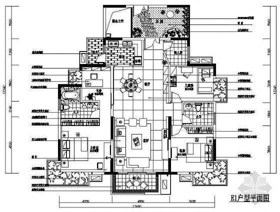 五室两厅装修图