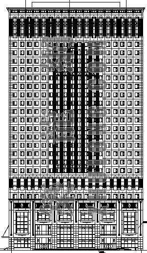 某高层办公楼建筑施工图(全套)