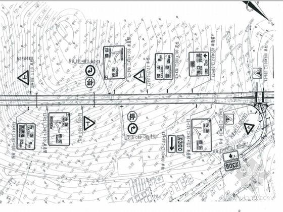 一级公路工程交通安全设施施工图174页