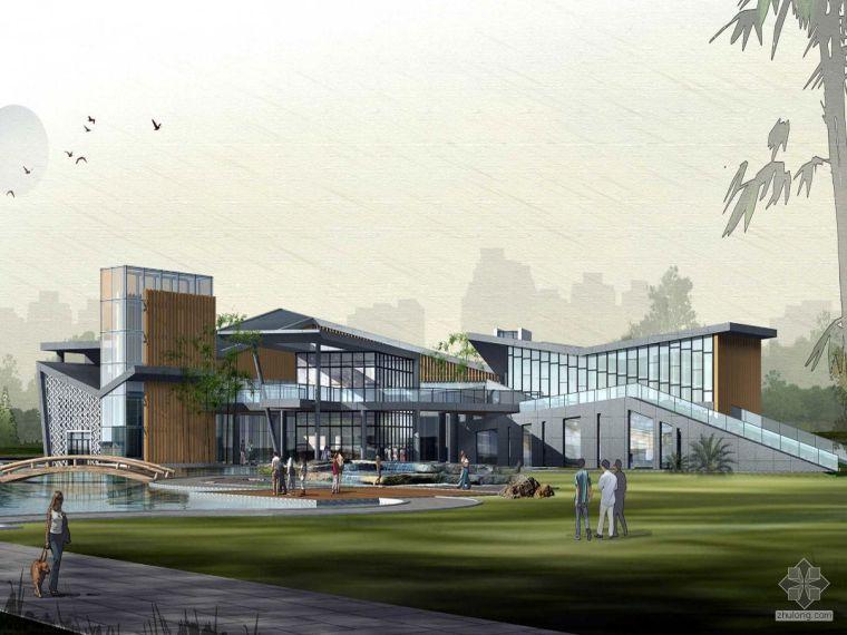 [福州]某园休闲文化长廊概念设计