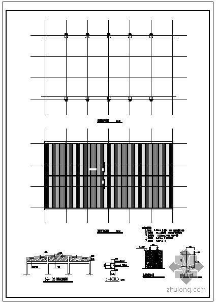某钢结构厂房设计图