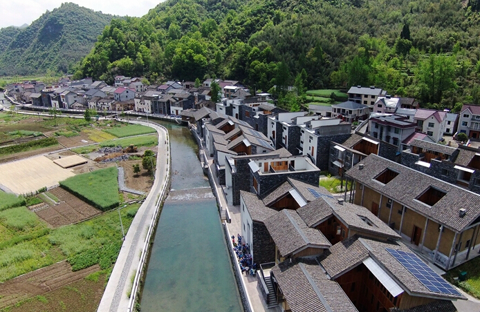 富阳文村农居房设计丨王澍和他的山水美丽乡村