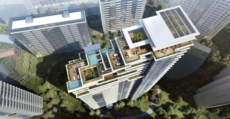 上海中信泰富集团大楼居民区的改造-1 (4)