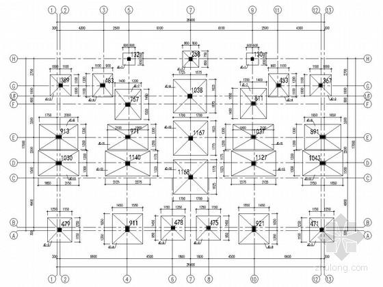 [广东]地上三层框架结构办公楼结构施工图