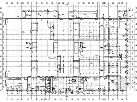 [湖南]飞机机轮工业生产厂房给排水施工图纸(中英文对照)