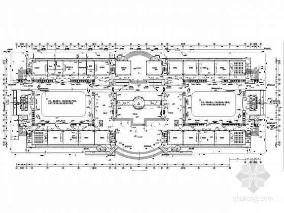 高级中学教学楼建筑给排水施工图