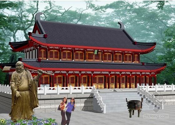 平场工程图资料下载-[重庆]寺庙场平工程招标文件(含图纸)