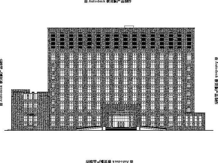 [浙江]高层市级多功能气象局建筑幕墙施工图