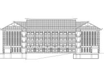 [福建]厦门大学翔安校区主楼sbf123胜博发娱乐施工图初步设计
