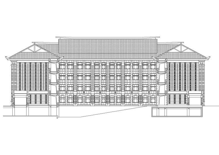 [福建]厦门大学翔安校区主楼建筑施工图初步设计