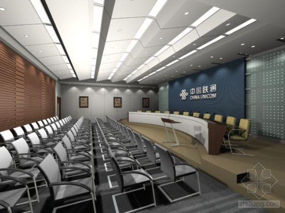 某会议室模型