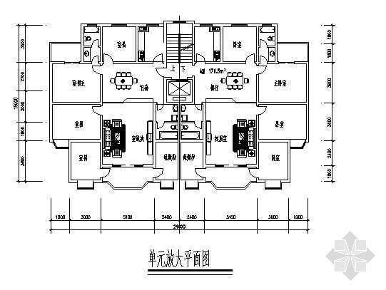 四室两厅一厨两卫171平米