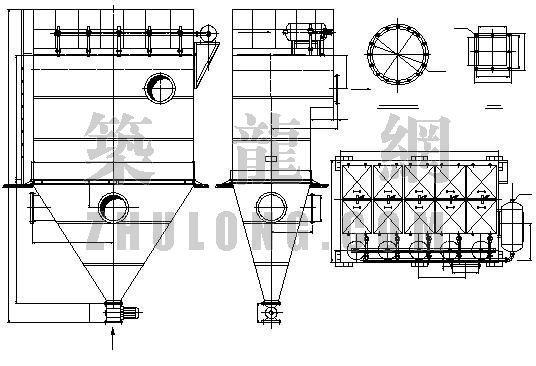 ZLM-5分室射流脉冲布袋除尘器