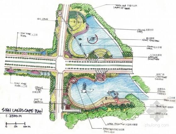 [四川]城市道路绿化景观设计方案