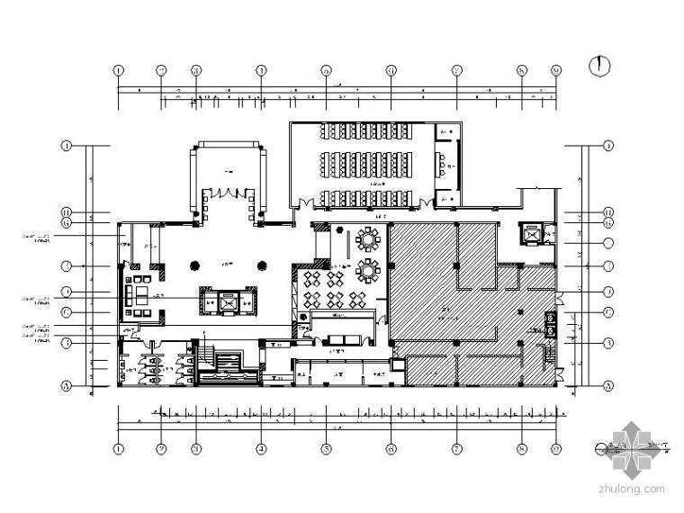[湖北]某时尚KTV会所局部室内装修图(含效果)