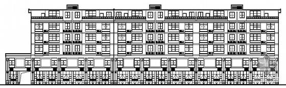 某五层商住楼建筑施工图(包阁楼六层)