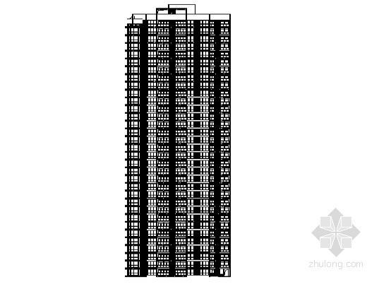 [南充市]某城市核心區高層住宅小區3號樓建筑施工圖(含節能設計)