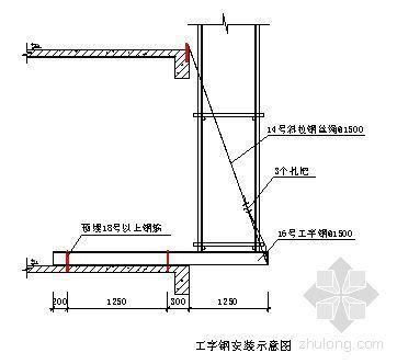 广州某高层住宅楼脚手架施工方案(落地式、悬挑式)