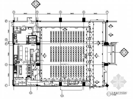 豪华宴会厅室内装修设计图