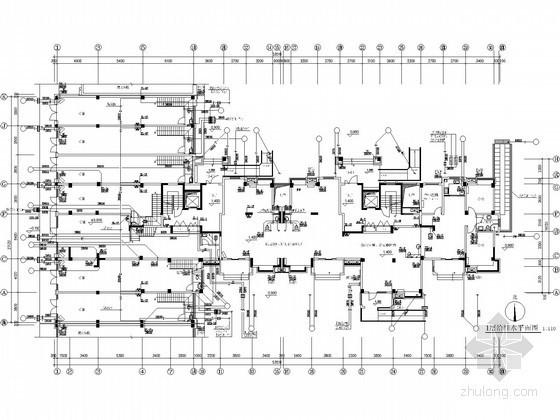 [安徽]60万平低密度复合建筑群给排水图纸(消防炮 七氟丙烷)