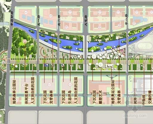[北京]主题公园中心区景观详细设计