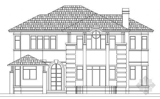 某花园别墅A型全套建筑施工图